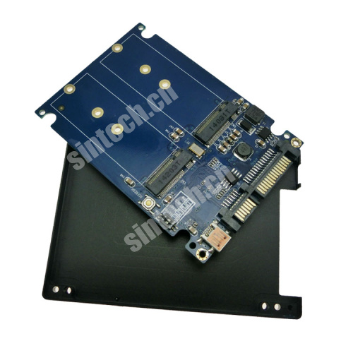 dual NGFF M.2 SSD to SATA 6G/USB 3.0 RAID adapter